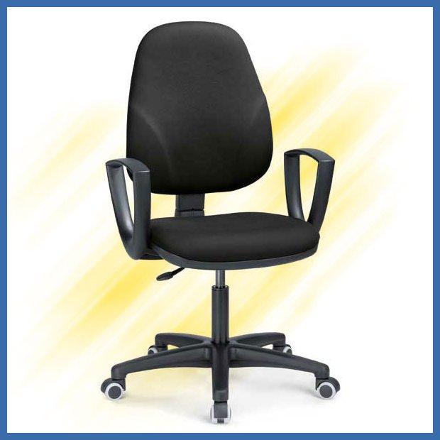 Halpa työtuoli musta Interstuhl Baseline on edullinen toimistotuoli tarjous h