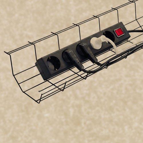 Kaapelikouru johtokori kaapelikori johtokouru sähköpöydän alle toimistoon, kaapelikourut johtokourut ja sähköjohtotelineet sopivat sähköpöytään