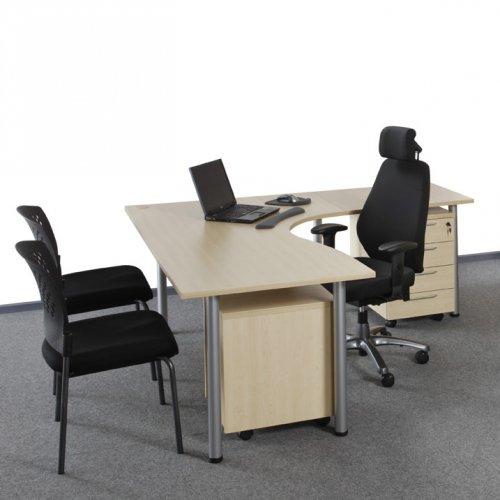 Sähköpöydän kulmakansi Economy sähköpöytään, kulma sopii Maxi tietokonepöytään eli sähkötyöpöytään, edullinen hinta kannessa sähkösäätöinen työpöytä Economyyn, seisomapöytä kulma kannella on ergonominen sähköpöydän kansi eli työtaso