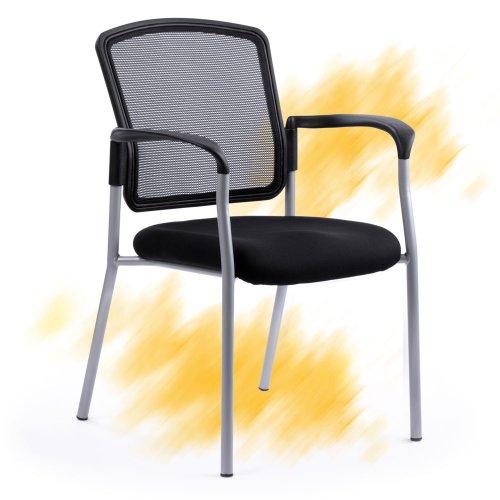 Neuvottelutuoli ja asiakastuoli Sitio musta edulliseen hintaan yrityksille, hyvä istuma-asento ja paras ergonomia neuvottelutuolissa, neuvottelutuolit ja asiakastuolit nyt edulliseen tarjous hintaan