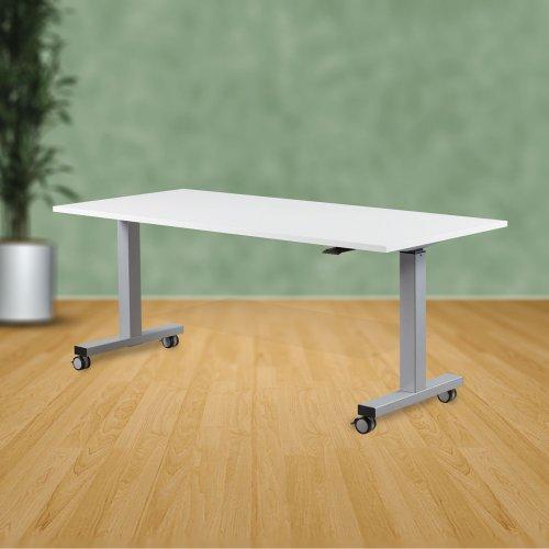 Säädettävä työpöytä Top Adjust 120 lukittavilla pyörillä, säädettävät työpöydät hinta tarjous