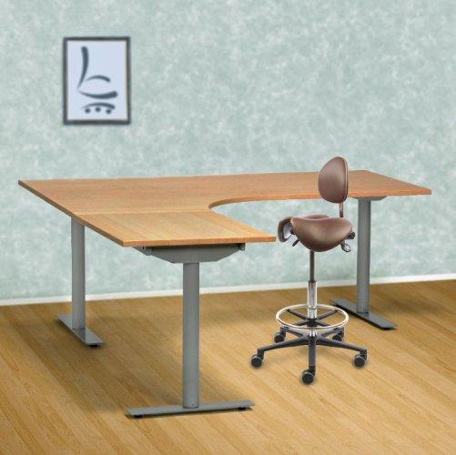 Sähköpöytä kulma Economy Maxi tietokonepöytä Linak tarjous hintaan sähkötyöpöytä toimistoon, Linak säädettävät sähköpöydät ergonominen työpöytä kolme jalkaa, hyvässä hinta tarjouksessa sähkösäätö / sähkösäätöinen työpöytä, paras muisti sähköpöytä kulma