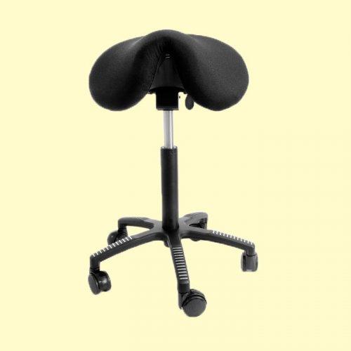 Satulatuoli ergonominen Aircell Soft musta, jonka istuin on ilmakennoilla täytetty tyyny satulatuoli hinta tarjous netistä edullisesti
