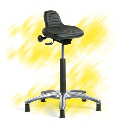 Seisomatuoli eli seisomatukituoli korkea Indy 5 musta edulliseen hintaan, ergonominen seisomatukituoli musta seisomatyötätekevän tukituoli hyvään tarjous hintaan