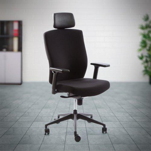 Tietokonetuoli hinta tarjous Ergonea Deon musta on hyvä konttorituoli ja ergonominen tietokonetuoli hinta tarjous toimistoon, keinumekanismi musta konttorituoli hinta paras ergonomia ja laadukas hyvä tietokonetuoli musta ergonominen konttorituolit