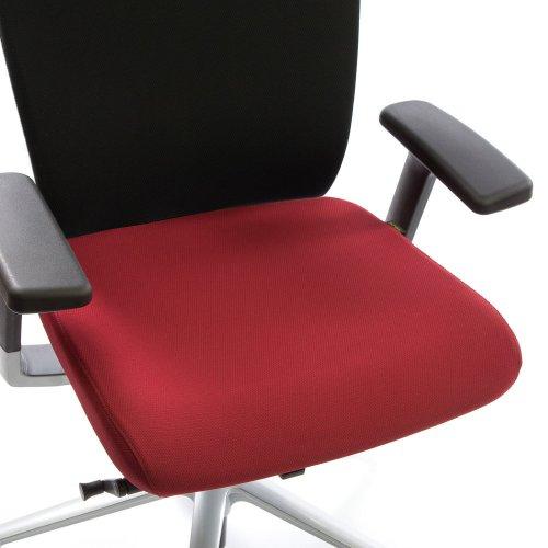Ergonea Fabric työtuolin vaihdettava punainen istuinpäällinen