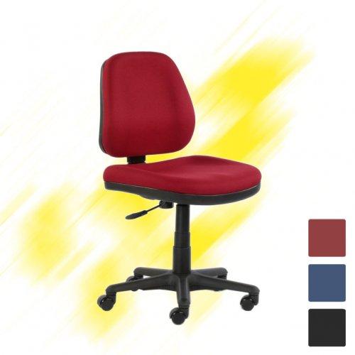 Toimistotuoli Team 9 Jr punainen laadukas pieni työtuoli edulliseen hintaan