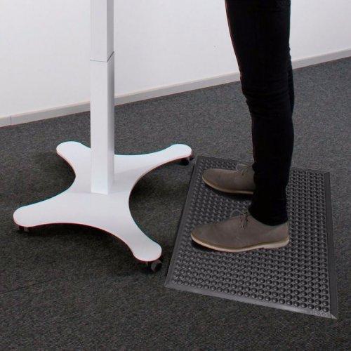 Työpistematto hinta kampanja toimisto Ergomatto on ergonominen seisontamatto seisomatyöpisteisiin, Ergomatto työpöydän matto sopii hyvin sähköpöytä käyttöön, seisontamatto on hyvä matto työpöydän alle ergonomiset työpistematot ovat mustia seisontamattoja