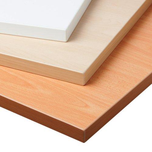 Sähköpöydän kansi vaahtera pyökki ja valkoinen 60 x 75 cm edulliseen hintaan, pöydän taso L-kulmaan