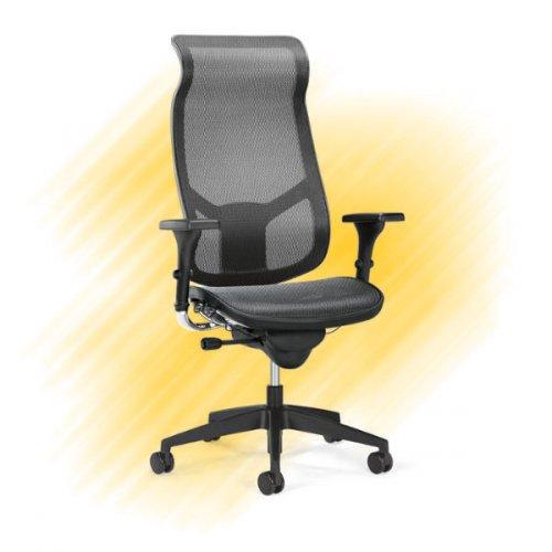 Verkkotuoli Interstuhl ergonominen verkkoselkäinen työtuoli hinta tarjous toimistoon ja kotiin, hyvä verkkotuoli jossa verkkoistuin ja verkkoselkä musta, työtuolissa paras ergonomia ja hyvä hinta laatu suhde, verkkotuoli musta edulliseen tarjous hintaan