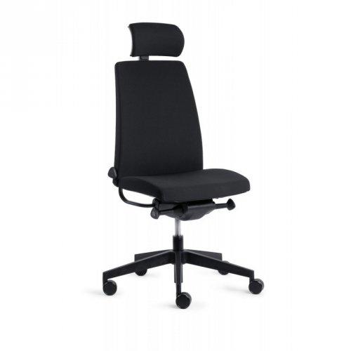 Työtuoli niskatuella Motto SL Plus tietokonetuoli ilman käsinojia edulliseen hintaan