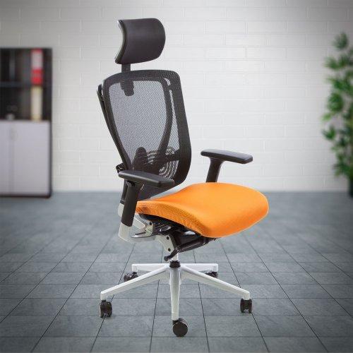 Hyvä työtuoli Ergonea Full Mesh on ergonominen verkkotyötuoli verkkoselkänojalla ja keinumekanismilla toimistoon verkkotuoli hinta tarjouksessa