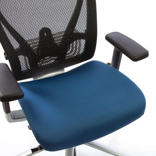Ergonea Full Mesh verkkotyötuolin vaihdettava sininen istuinpäällinen