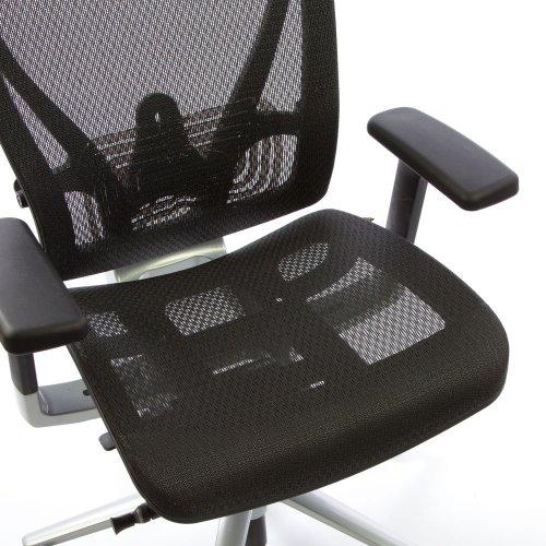 Ergonomisen Ergonea Full Mesh työtuolin verkkoistuin ilman istuinpäällistä