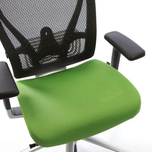 Ergonea Full Mesh verkkotuolin vaihdettava vihreä istuinpäällinen